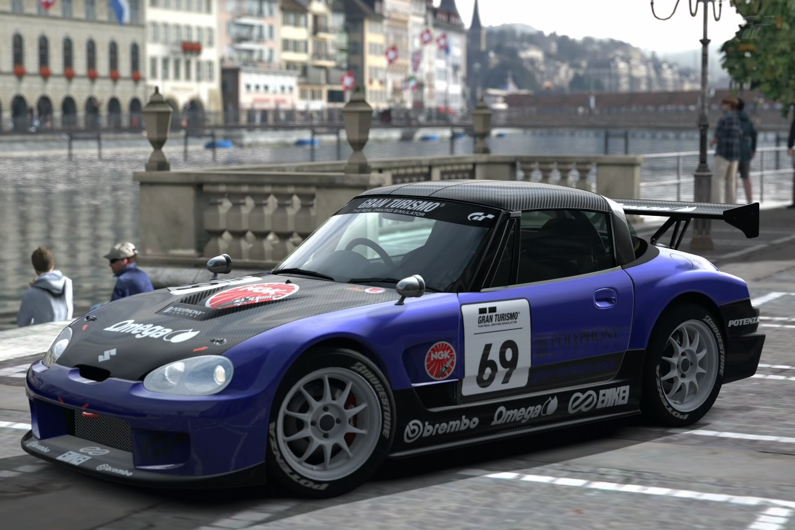 hight resolution of one of the funniest car to drive in gt6