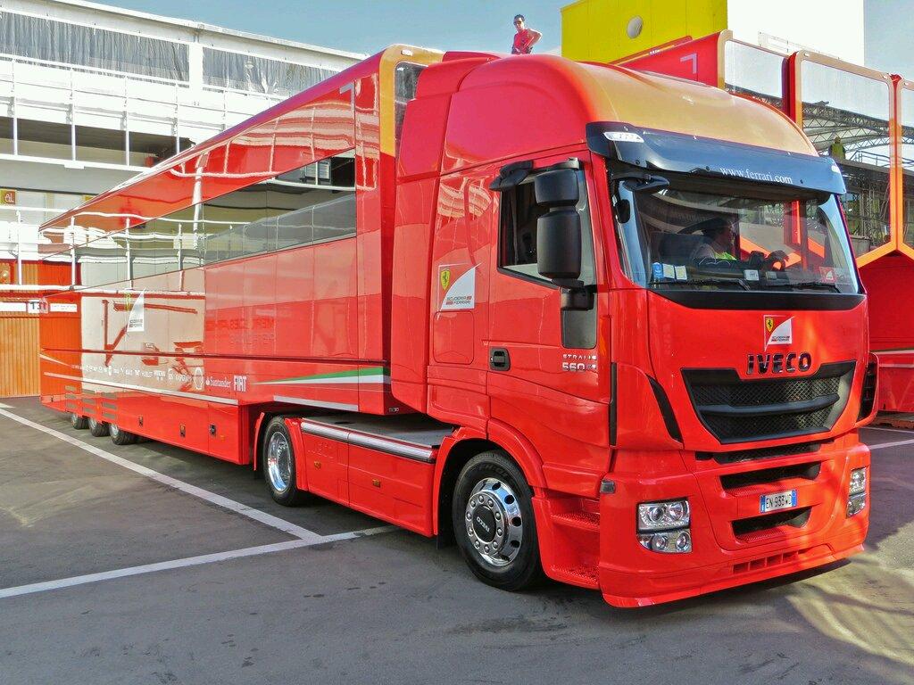 hight resolution of f1 truck