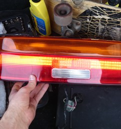 making custom tail lights for my 92 sc400 just the running lights left to set up and wire  [ 3840 x 2160 Pixel ]