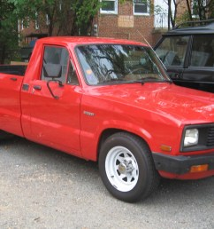 i plan on painting my 1982 mazda b2200 i would like to do the trim bed hooks bumpers wheels and smoke stack black and paint the body white sorta like  [ 2284 x 1489 Pixel ]