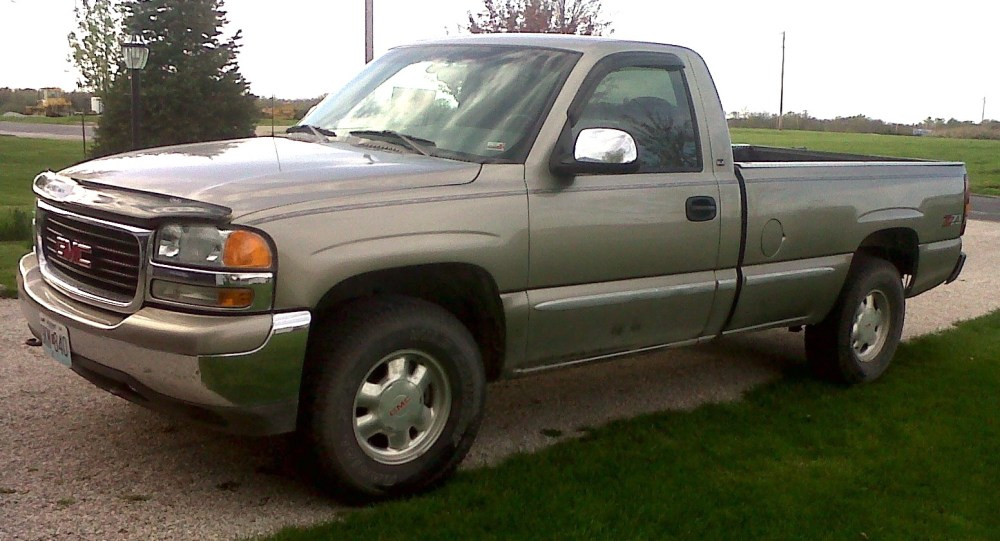 medium resolution of so i purchased my first truck today a 2003 gmc sierra z 71 it has the 4 8l and a 5 speed manual since this is my just truck i was wondering what i should