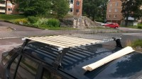 Im building a roof rack for my Saab 900 S, what do you ...