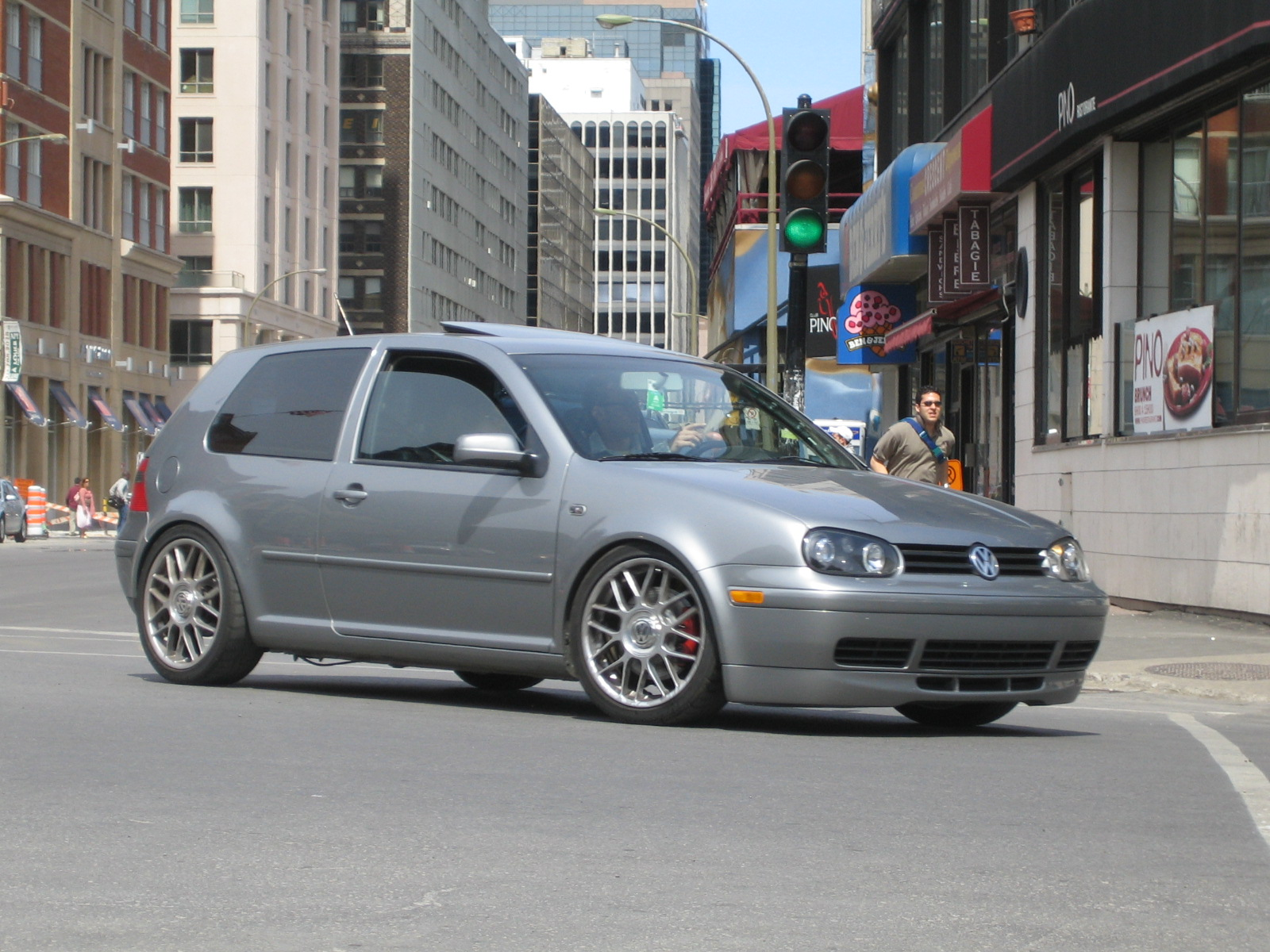 hight resolution of vw gti mk4