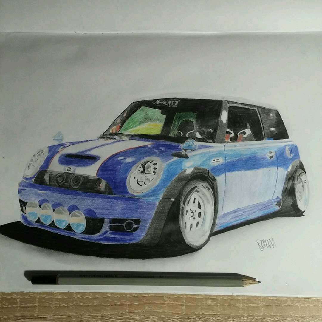 hight resolution of  cooperking67 s mini cooper drawing
