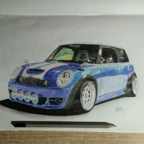 small resolution of  cooperking67 s mini cooper drawing