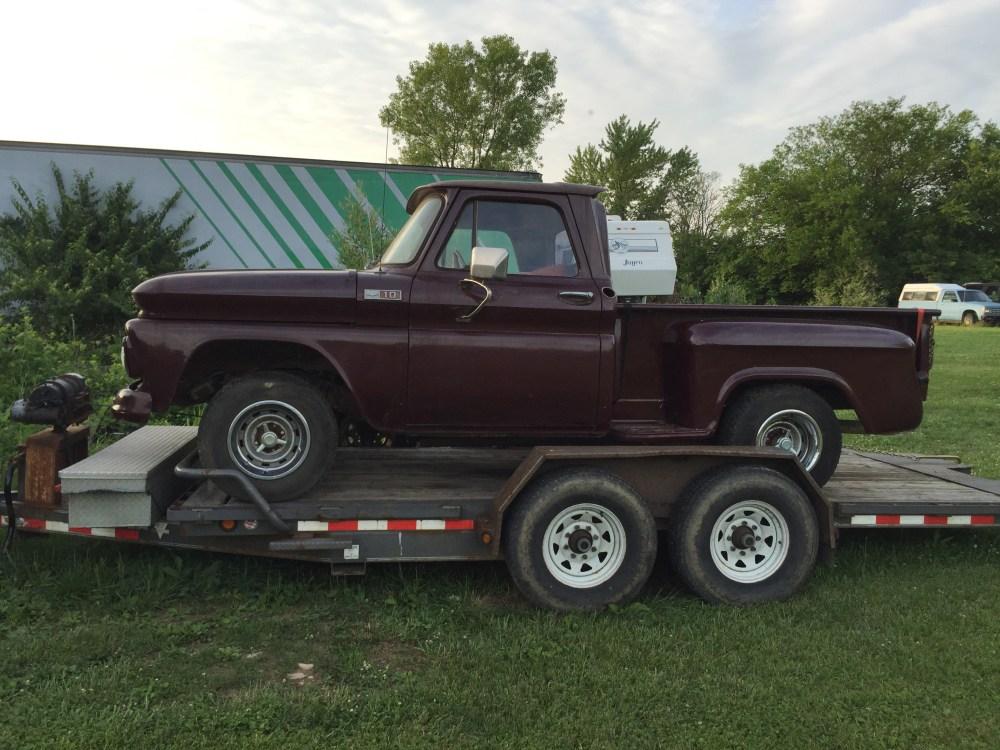 medium resolution of 1965 c10 stepside truck