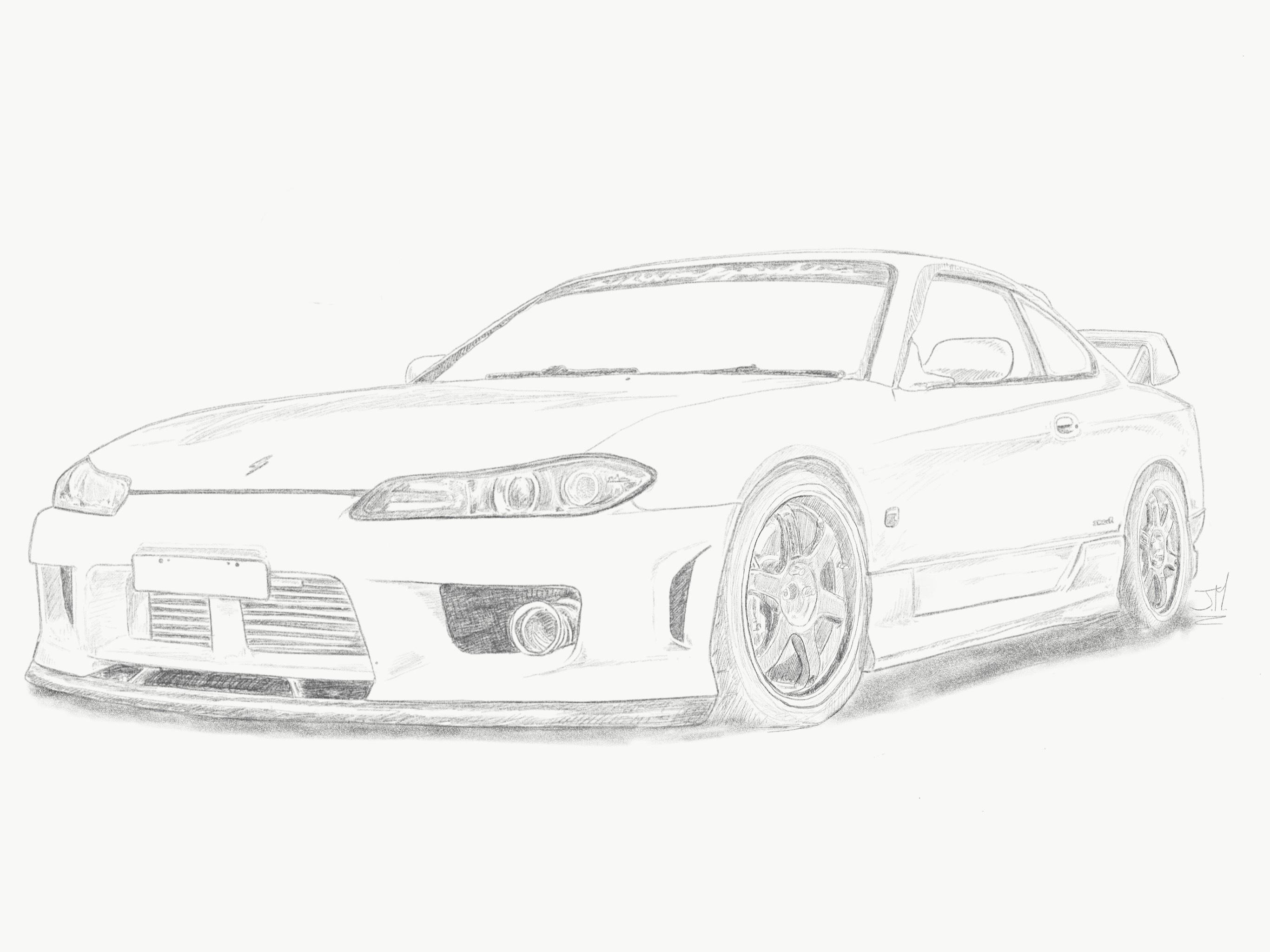 Nissan Silvia S15 Spec R Aero