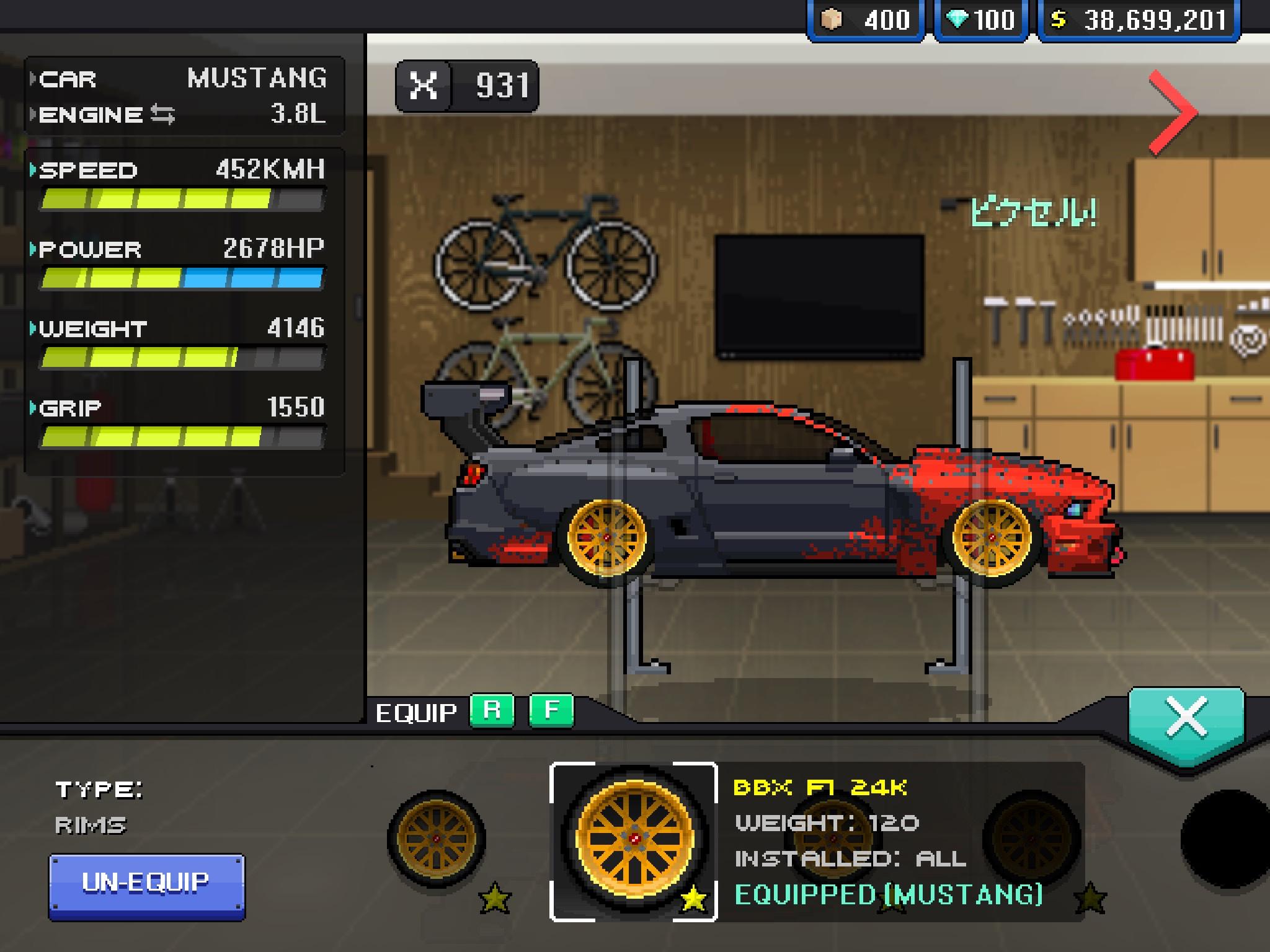 pixel car racer crate