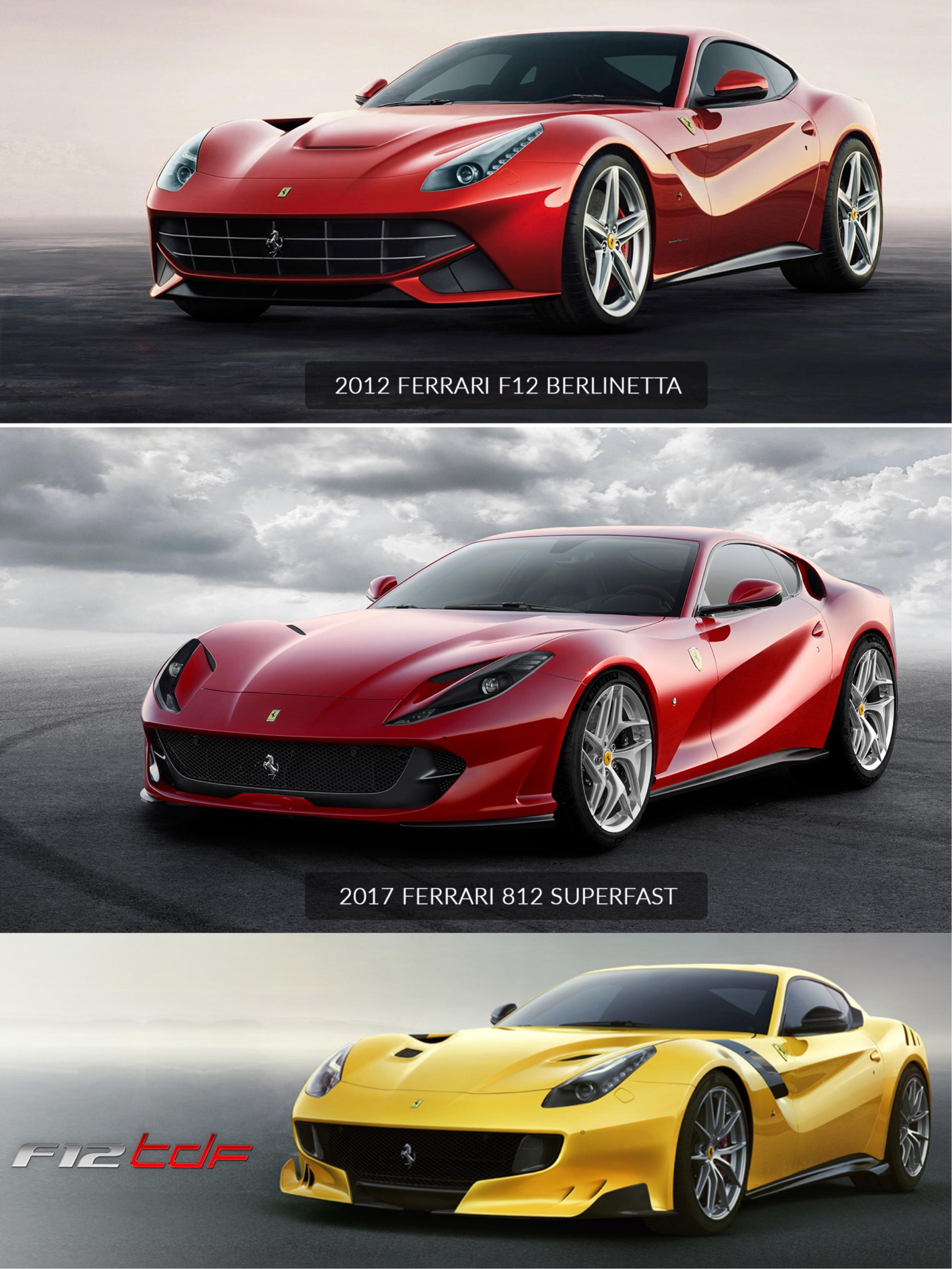 Ferrari F12 Vs 812 : ferrari, Which