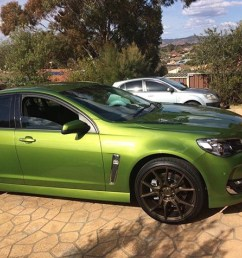 i m not really a holden fan but a 6 2 litre ls3 for a daily is great my dad went over to dubbo to buy a new car and came back with this  [ 1280 x 951 Pixel ]