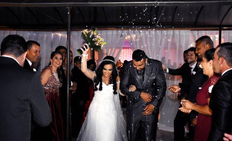 Enfim casados - Casamento Adriana e Everton