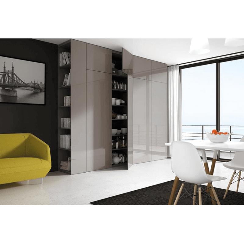 rangement salon meuble sur mesure