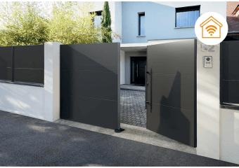 portails battants aluminium et pvc