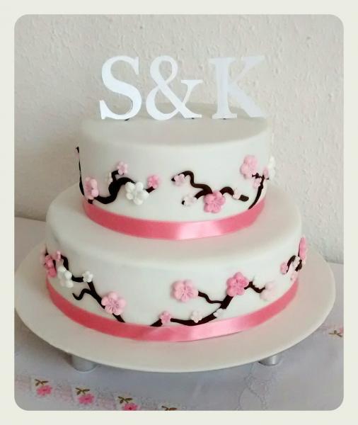 20 Hochzeitstag Torte  Hochzeit