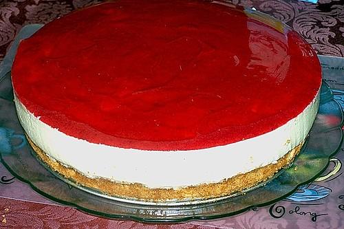Philadelphia  Erdbeer  Torte Rezept mit Bild von