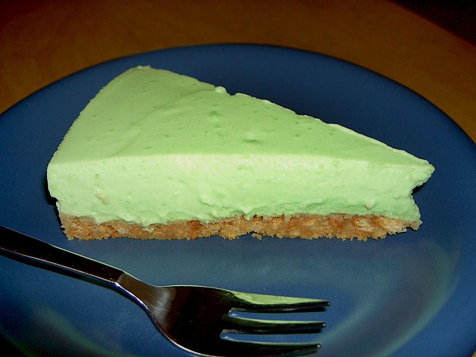 Waldmeister  Creme  Kuchen Rezept mit Bild von melfi