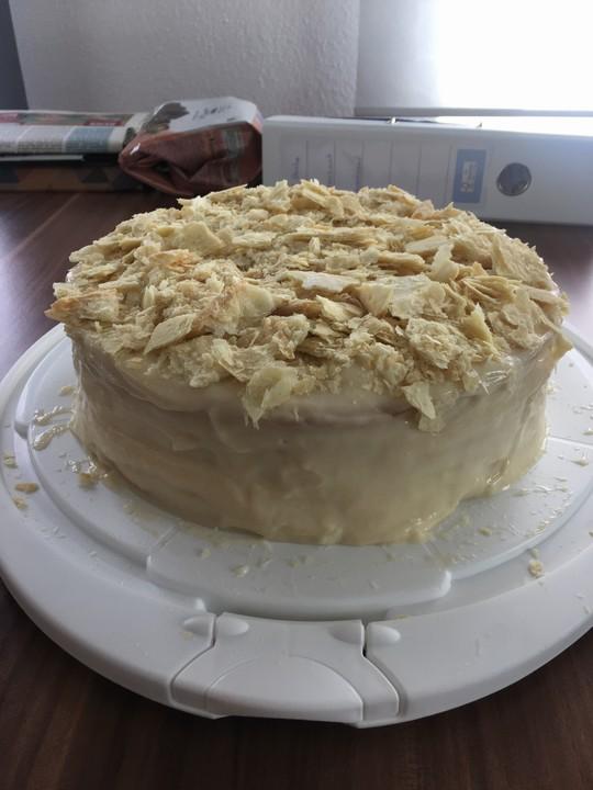 Torte Napoleon Rezept mit Bild von nikkaland  Chefkochde