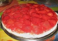 Erdbeer - Creme - Kuchen (Rezept mit Bild) von Bananinchen ...