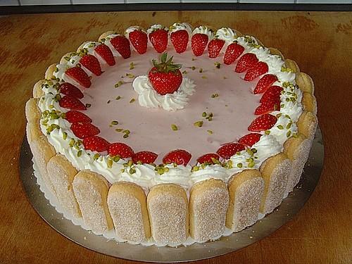 Erdbeertorte Rezept mit Bild von milkakuh  Chefkochde