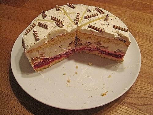 Himbeer  Spekulatius  Torte Rezept mit Bild von