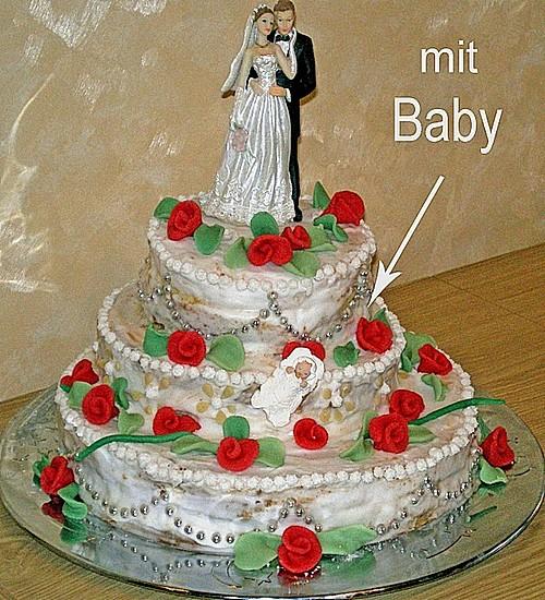 Hochzeitstorte Rezept mit Bild von blauhijkl  Chefkochde