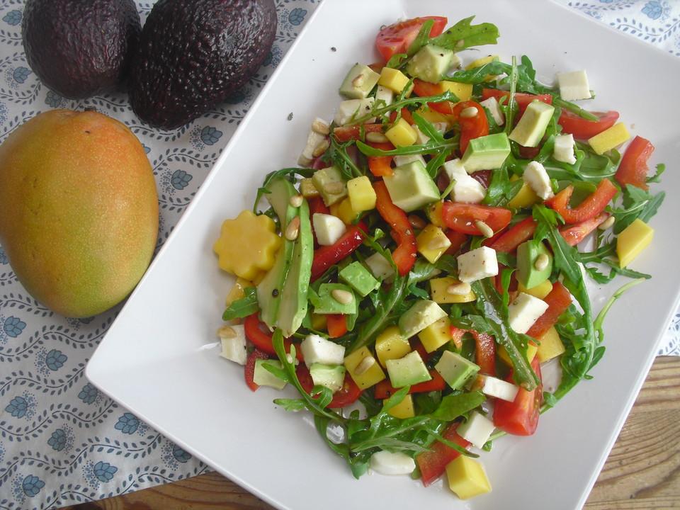 Fruchtiger Salat von Tarti  Chefkochde