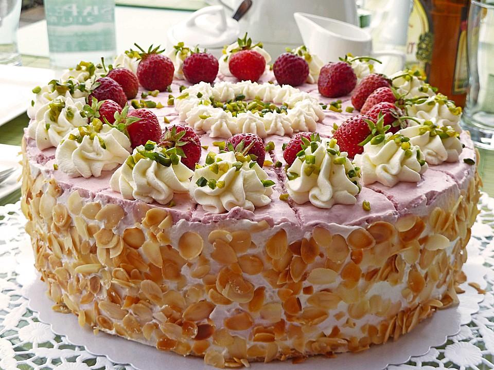 ErdbeerSahneTorte von holunderbluete67  Chefkochde