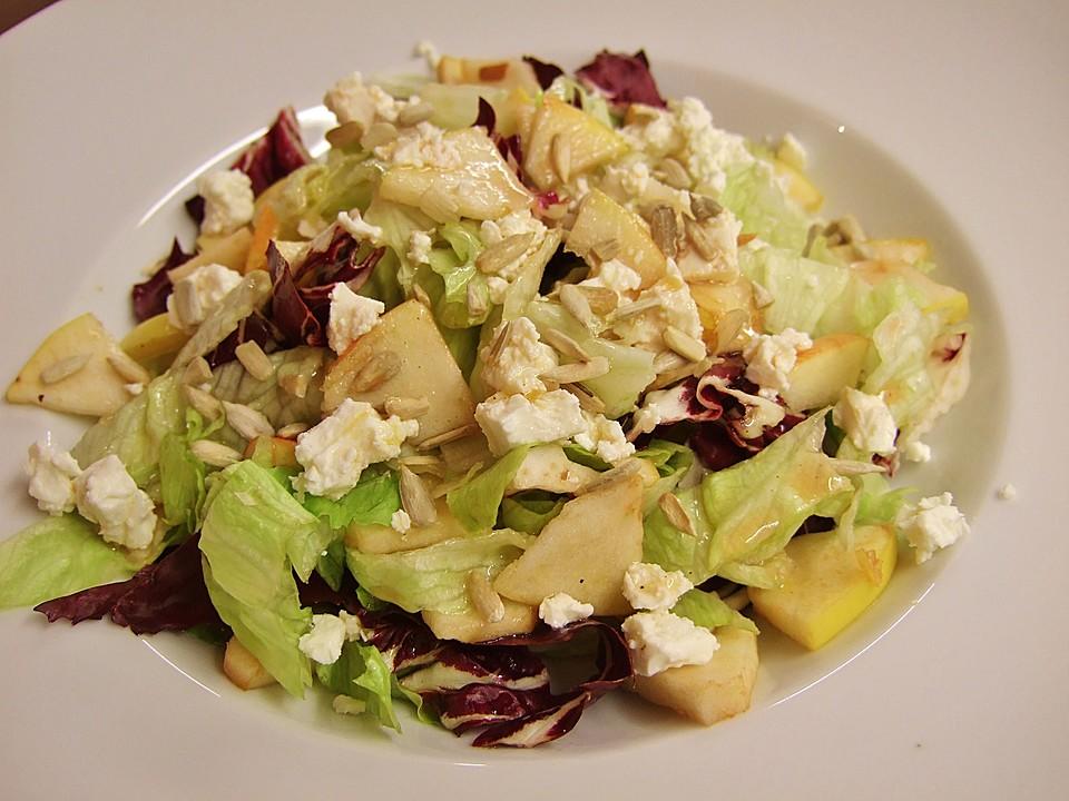 Fruchtiger FetaSalat von zimtschneckal  Chefkochde
