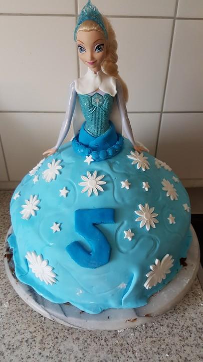 Frozen Elsa Torte von Timi23  Chefkochde