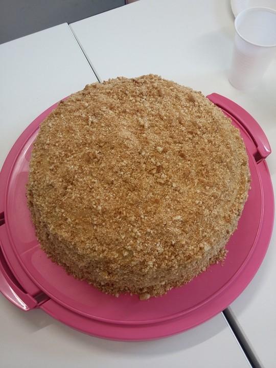 Torte Napoleon Rezept mit Bild von irina  Chefkochde