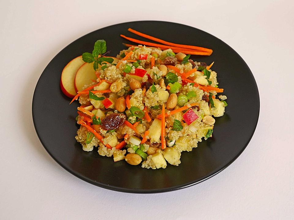 Fruchtiger Quinoa  Salat von Cappuccino  Chefkochde