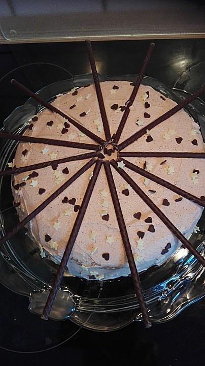 After  eight  Torte von garfield  Chefkochde