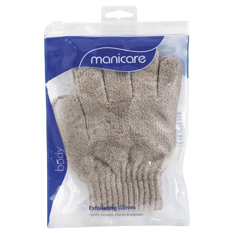 Buy Manicare Exfoliating Gloves - Brown Online at Chemist ...