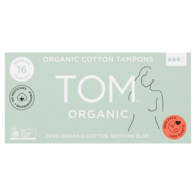 TOM Organic Regular Tampons