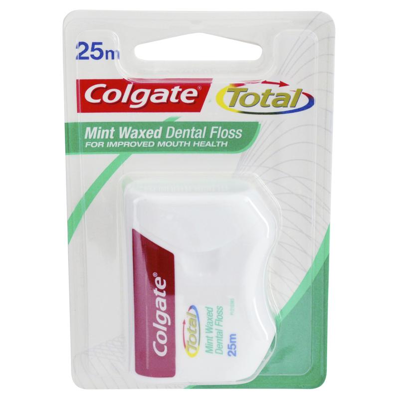 Colgate Total Dental Floss 25m - Chemist Warehouse