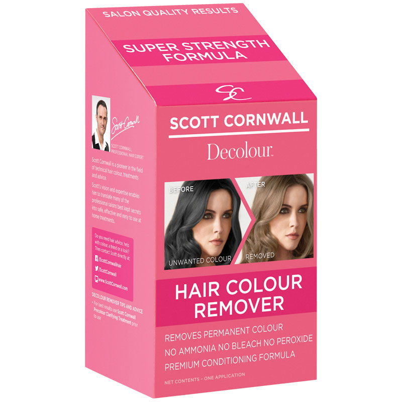 Buy Scott Cornwall Decolour Hair Colour Remover Online at