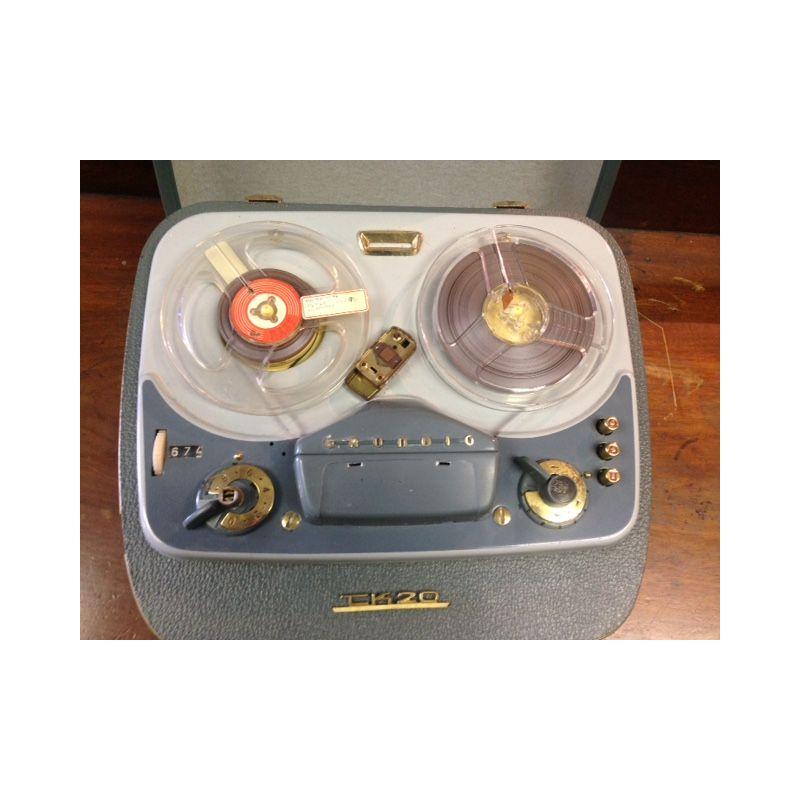 Vintage Reel to Reel tape recorder  Antiques  Christy Birds