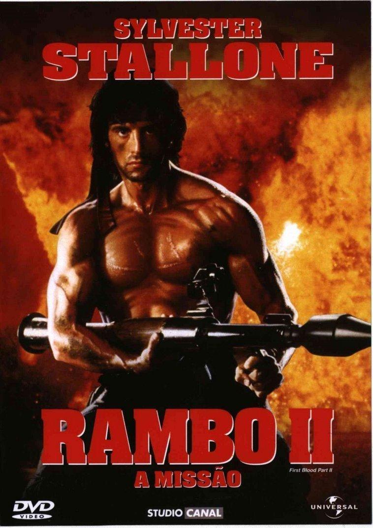 Poster Rambo: First Blood Part II (1985) - Poster Rambo II ...