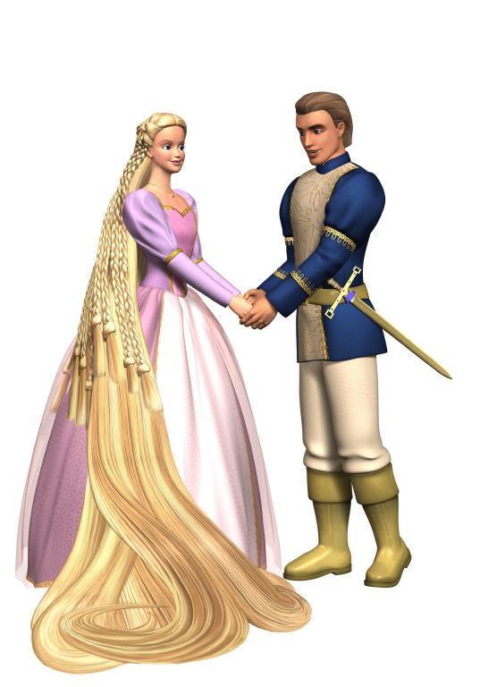 Imagini Barbie as Rapunzel 2002  Imagini Barbie n
