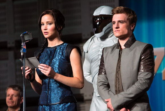Primele imagini din The Hunger Games: Catching Fire