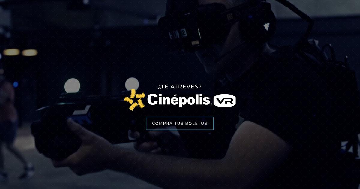 Experiencia Cinpolis VR