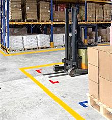 Floor Marking Tape  Safety Tape  Safety Precaution Marking