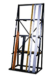 vertical bar storage racks pipe rack