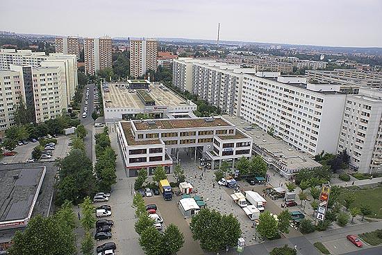 Kommunales  Prohlis  Einkaufszentrums  Heimat und