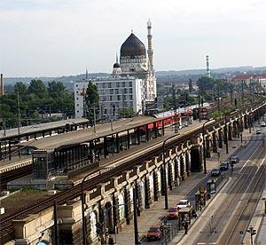 Verkehrsverbindungen  Bahnhof Dresden Mitte