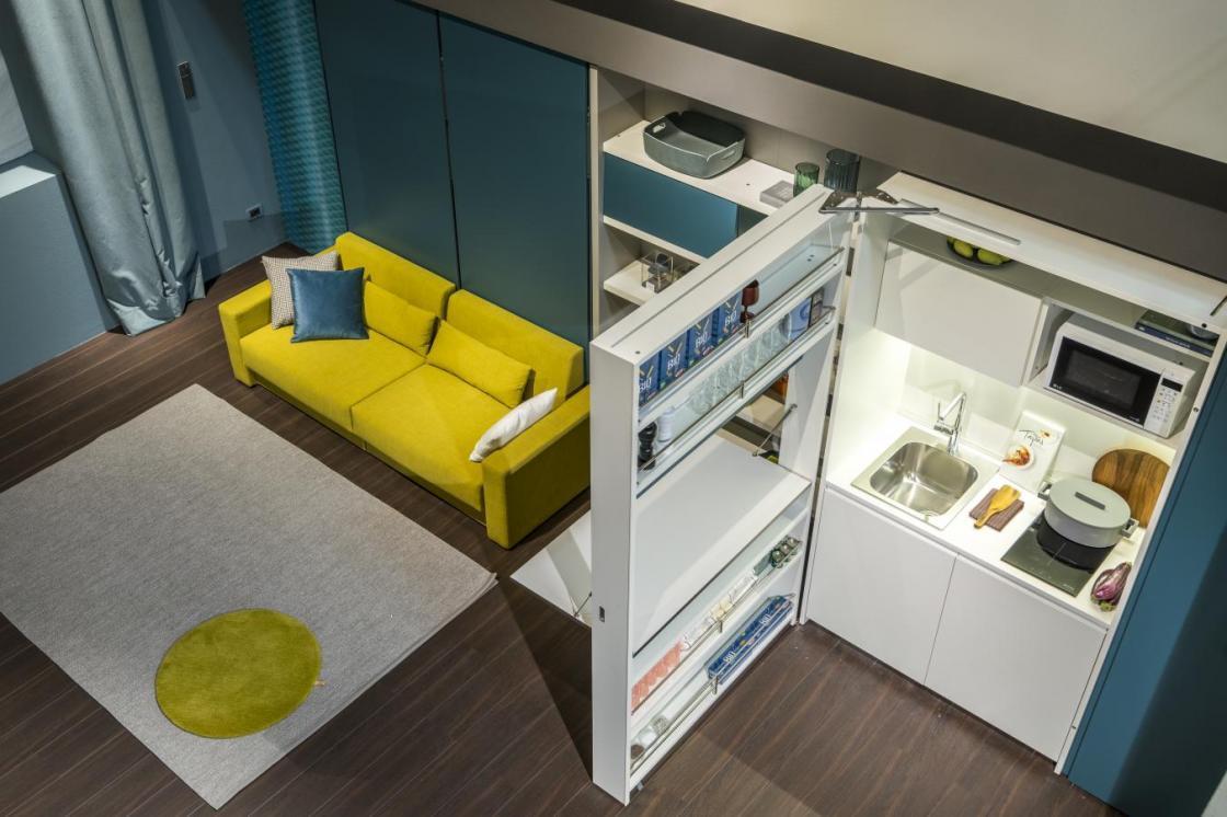 arredare un salotto piccolo con attenzione al dettaglio ti permetterà di creare un angolo curato e intimo: Spazio Living Come Arredare Cucina E Soggiorno In Un Ambiente Unico Clei