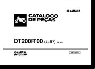Diagrama/Manual YAMAHA Yamaha DT 200R