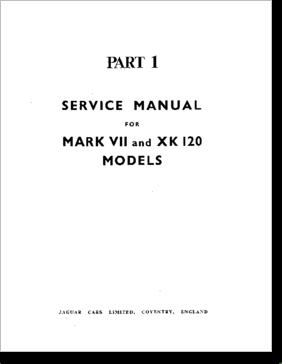 Diagrama/Manual Jaguar Jaguar MKVII, XK120