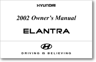 Diagrama/Manual Hyundai Elantra 2002