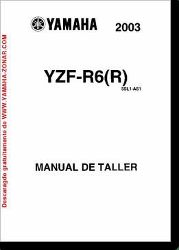 Diagrama/Manual YAMAHA YAMAHA R6